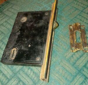 Antique Norwalk Co. Pocket Door Mortise Lock