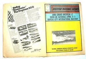 1976 AHRA MotorRacingNews/Drag World SLIR Pro Stock/Texas Nat event results NHRA