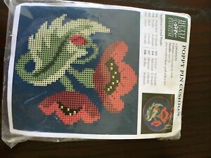 Beth Russell Poppy Pin Cushion Kit RARE SOLD OUT