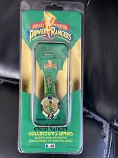 Mighty Morphin Power Rangers Green Ranger Collector Series Analog Watch New Mmpr