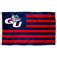 Gonzaga University Bulldogs Stars and Stripes Nation USA Flag