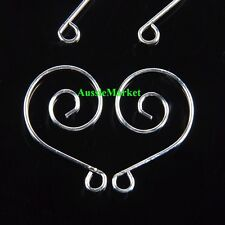 10 x s hooks connectors suncatcher mobile windchime jewellery findings clasps