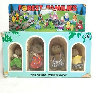 Forest Families - Mouse Family RARE - M1-4G
