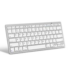 OMOTON Ultra-Slim Bluetooth Keyboard Compatible with Apple iPad 10.2 (2019), ...