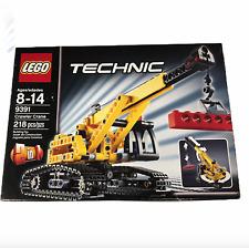 LEGO 9391 Technic 2 In 1 Crawler Crane & Bulldozer RETIRED New Sealed Box Damage