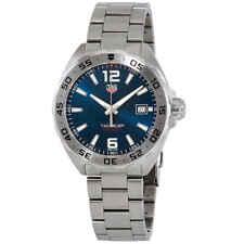 Tag Heuer de Fórmula 1 Acero Inoxidable Esfera Azul Reloj para hombres WAZ1118.BA0875