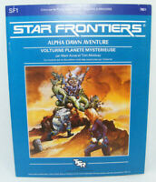 STAR FRONTIERS Alpha Dawn SF1 1982 TSR Vintage RPG jeu de rôle Science Fiction