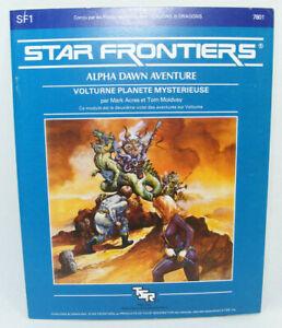 STAR FRONTIERS Alpha Dawn SF1 1982 TSR Vintage RPG jeu de rôle Science Fiction
