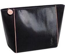 Yves Saint Laurent Ysl pink, glitter sequin black opium cosmetic Bag Makeup Case