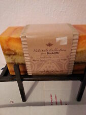 2 Wick Brick Candle DecoGlow Naturals Collection Purifying Aroma with Holder New