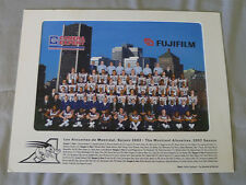 Original CFL Montreal Alouettes 2002 Official Team Photo