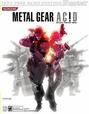 Metal Gear Acid Official Strategy Guide by Michael Lummis and BradyGames PSP