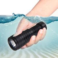 10000Lm 200M Underwater XM-L2 LED Scuba Diving 26650 Flashlight Diver Torch Lamp