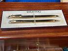 Vintage+Sheaffer+Pen+%26+Pencil+Set+-+Chevrolet%2C+Gold+Tone+
