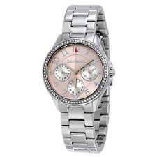 Juicy Couture Gwen Multifunction Light Pink Dial Ladies Watch 1901436