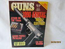 Guns Magazine 1990 Annual with bonus catalog section