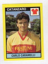figurina IL GRANDE CALCIO VALLARDI 1988/89 NUMERO 384 CATANZARO CARAMELLI