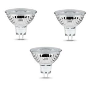 FEIT Electric Enhance MR16 GU5.3 LED Bulb Bright White 20 Watt Equivalence 3 pk