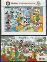 Antique Vintage Mail Yvert 1122 / 9+ Hb 148/9 MNH Walt Disney
