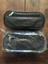 2 NEW! KRISTEN Unisex Travel Toiletries/Cosmetics Bag Soft Shell Black-Free Ship