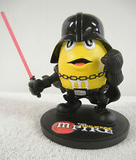 2005 Yellow M & M DARTH VADER Star Wars Resin Statue 6-in tall Limited Ed. #1477