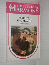 SORRIDI AMORE MIO Susan Napier Harlequin Mondadori 1987 harmony 469 romanzo di