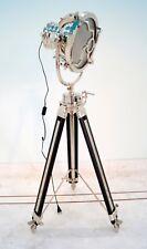 Marine Revolving Tripod Floor Lamps Searchlight Vintage Spot Light Theater Light