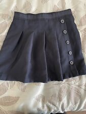 Girls Nautica Sz 6x Navy School Uniform Skort/Skirt - Nwot