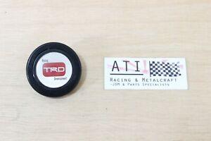 Vintage JDM TRD Racing Development Horn Button , Steering Wheel Horn Button