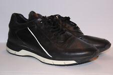 Porsche Design Men's Black Leather Trainers Shoes Size UK 7.5 Used Condition