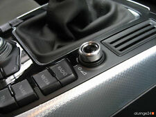 AUDI Q5 8R A5 Cabrio 8F Aluring Alu Lautstärkeregler MMI QUATTRO S-LINE SQ5 S5