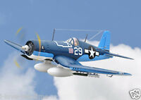 SkyFlight LX 47.2in RC F4U Corsair Warbird KIT Propeller Plane W/O Battery Radio