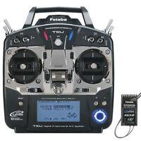 Futaba 10JA 10J 10ch 2.4ghz FHSS Radio System TX RX With R3008SB Sbus FUTK9200