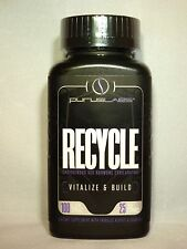 Purus Labs RECYCLE Testosterone Booster PCT Hormone Exhilirator - 100 capsules