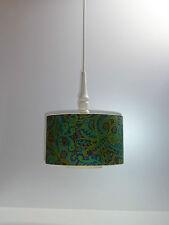 70er PENDEL LEUCHTE  LAMPE  Hängelampe Design-Klassiker 70s pendulum lamp green