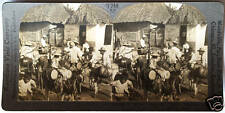 Keystone Stereoview of Water Carriers  & Homes in COLUMBIA from 1930's T600 Set