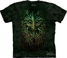 Green Man Fantasy T Shirt Adult Unisex The Mountain Adult - XL 1031393