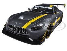 MERCEDES AMG GT3 PRESENTATION CAR GREY #1 1/18 MODEL CAR BY AUTOART 81530