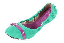 Ballerinas Schuhe aus Wildleder für Damen