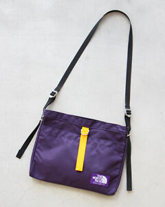 THE NORTH FACE PURPLE LABEL Small Shoulder Bag NN7757N Black Purple