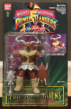 1994 MIGHTY MORPHIN POWER RANGERS-EVIL SPACE ALIENS: SLASH & BLOCK MINOTAUR