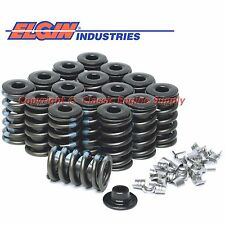 New Z28 +100 Style Valve Springs, Retainers & Locks Chevy sb 400 350 327 305 283