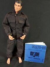 "Vintage 1996 Pawtucket Hasbro GI JOE US Navy Action Sailor Figure 11"" W/ Manual"