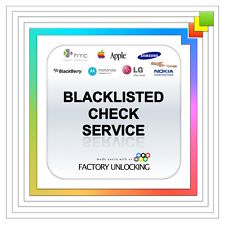 SUPER FAST WITHIN 0-1 HOUR 100% BLACKLIST BARRED CHECK ALL MODEL PHONES