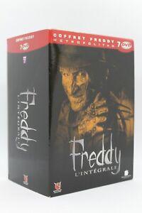 """Coffret """" l'intégrale  Freddy  """" en 7 dvd édition limitée 6 sont encore ss cello"""