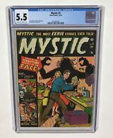 Mystic #5 CGC 5.5  (Jerry Robinson, Mike Sekowski, Pre-Code horror) 1951 Atlas