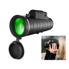 Mini Monocular Telescope HD Night Vision with Phone Holder 40×60