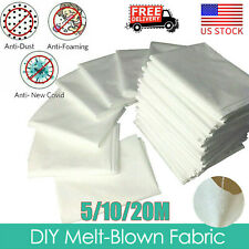 Melt-blown Nonwoven DIY Fabric Mouth Face Craft Filter Interlining 20M US