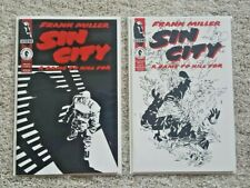 Sin City: A Dame To Kill For #1, 2 Lot of 2 Nm Comics Frank Miller Unread!