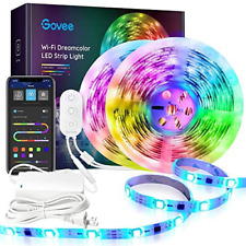Dreamcolor 32.8FT LED Strip Lights RGBIC Govee WiFi Wireless Smart Phone Control